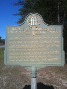 Battle of Griswoldville from East Macon