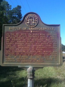 Civil War Battle of Griswoldville, GA